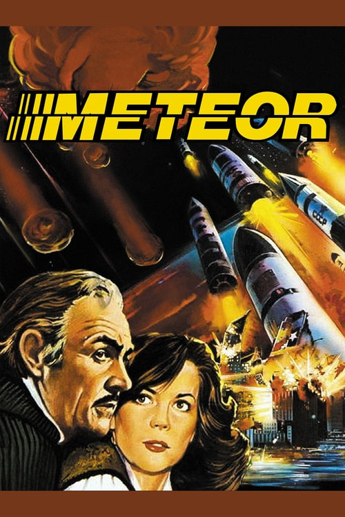 """Poster for the movie """"Meteor"""""""