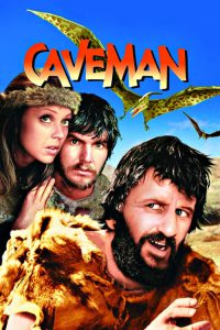 """Poster for the movie """"Caveman"""""""