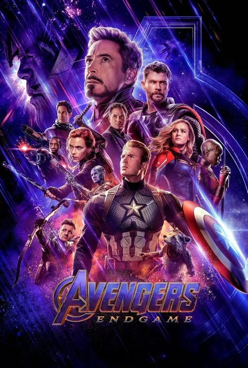 "Poster for the movie ""Avengers: Endgame"""