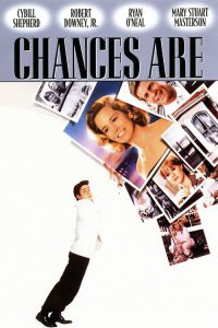 """Poster for the movie """"Chances Are"""""""