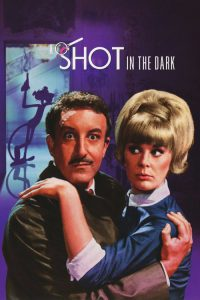 "Poster for the movie ""A Shot in the Dark"""