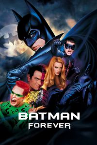 "Poster for the movie ""Batman Forever"""