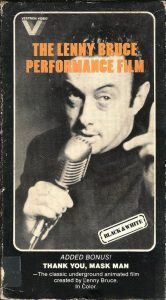 """Poster for the movie """"Lenny Bruce in 'Lenny Bruce'"""""""