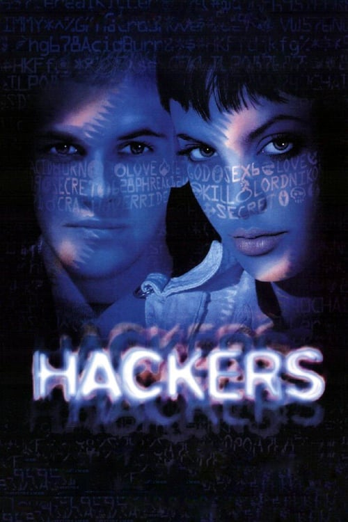 """Poster for the movie """"Hackers"""""""