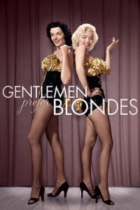"Poster for the movie ""Gentlemen Prefer Blondes"""