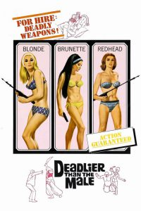 """Poster for the movie """"Deadlier Than the Male"""""""