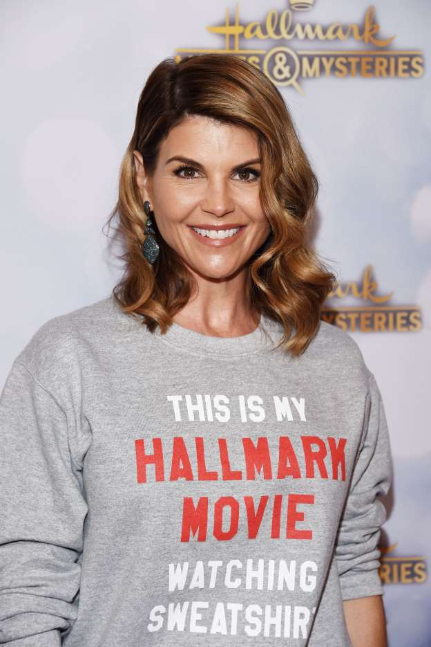 lori loughlin this is my hallmark movie watching sweatshirt