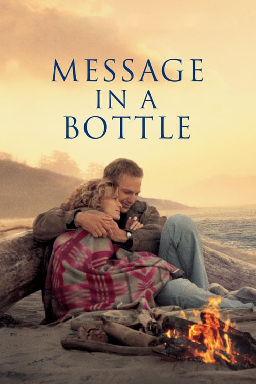 """Poster for the movie """"Message in a Bottle"""""""