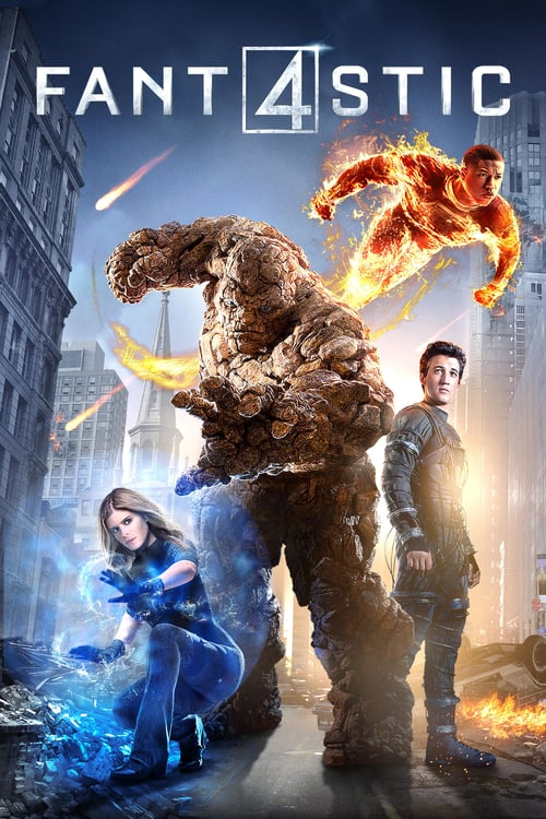 "Poster for the movie ""Fantastic Four"""