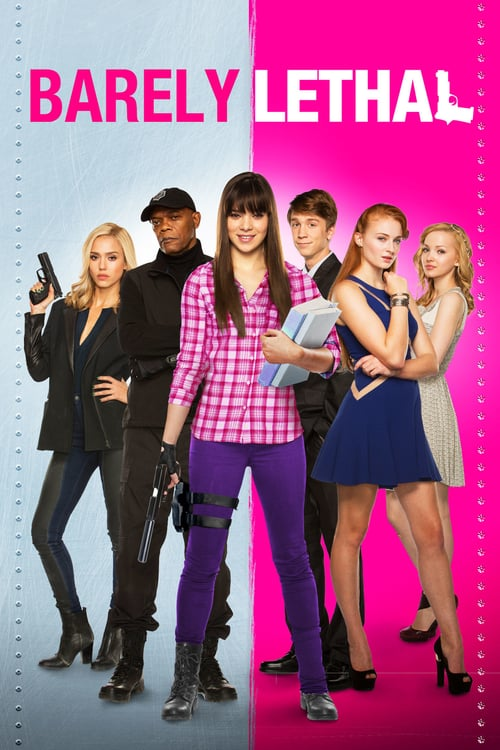"""Poster for the movie """"Barely Lethal"""""""