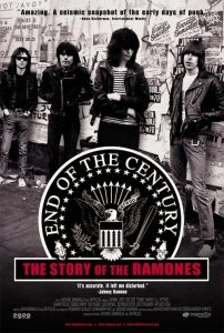 """Poster for the movie """"End of the Century: The Story of the Ramones"""""""