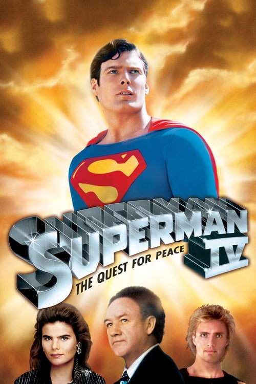 "Poster for the movie ""Superman IV: The Quest for Peace"""