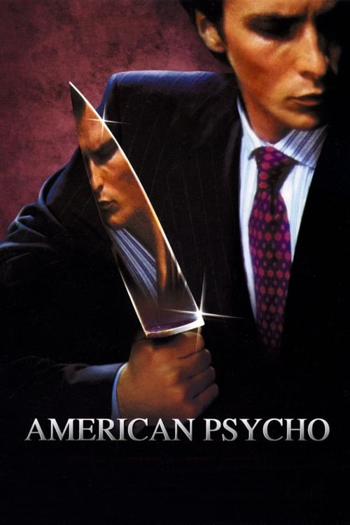 "Poster for the movie ""American Psycho"""