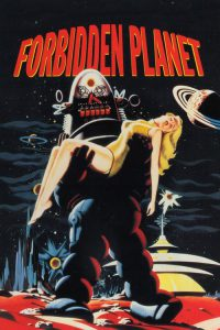 """Poster for the movie """"Forbidden Planet"""""""
