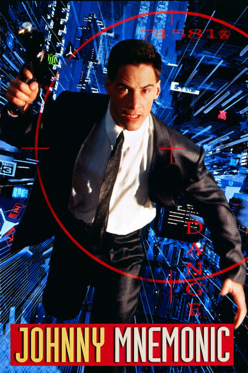 """Poster for the movie """"Johnny Mnemonic"""""""