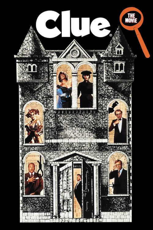 "Poster for the movie ""Clue"""