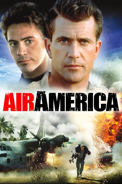"""Poster for the movie """"Air America"""""""