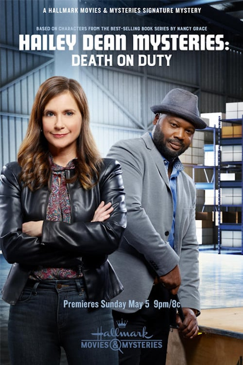 "Poster for the movie ""Hailey Dean Mysteries: Death on Duty"""