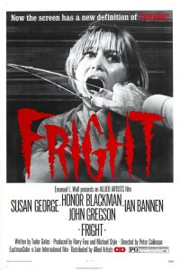"""Poster for the movie """"Fright"""""""