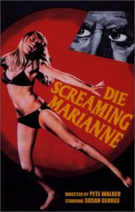 """Poster for the movie """"Die Screaming, Marianne"""""""