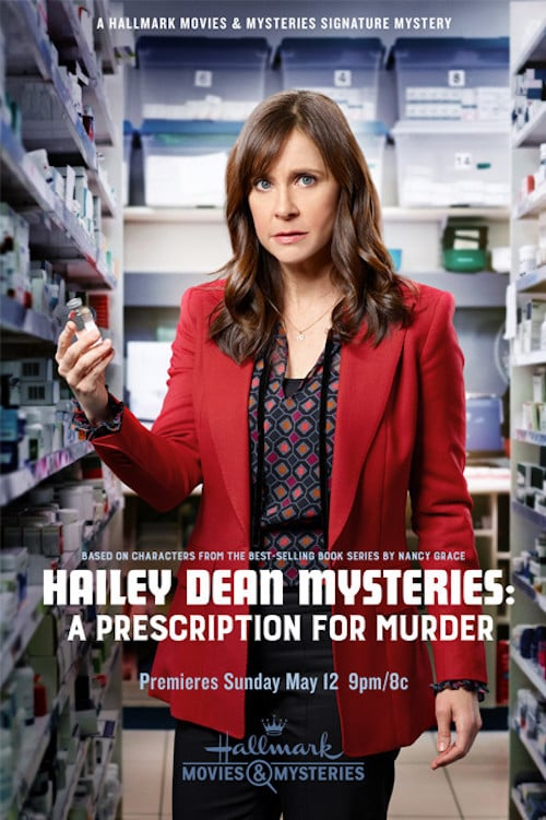 "Poster for the movie ""Hailey Dean Mysteries: A Prescription for Murder"""
