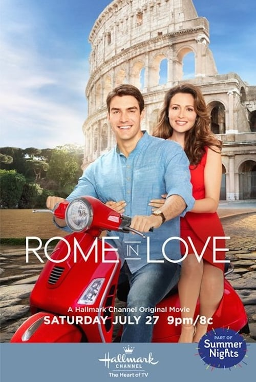 """Poster for the movie """"Rome in Love"""""""