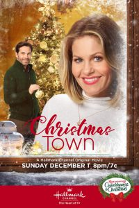 "Poster for the movie ""Christmas Town"""