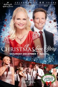 """Poster for the movie """"A Christmas Love Story"""""""