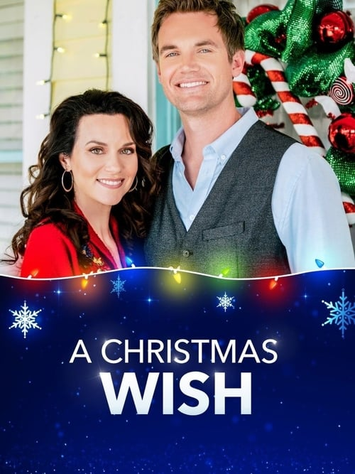 "Poster for the movie ""A Christmas Wish"""