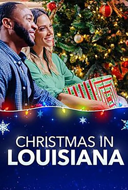 "Poster for the movie ""Christmas in Louisiana"""