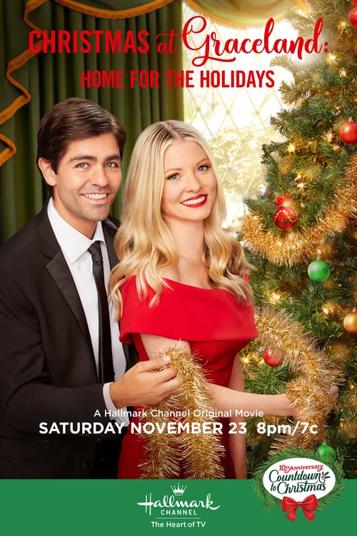 """Poster for the movie """"Christmas at Graceland: Home for the Holidays"""""""