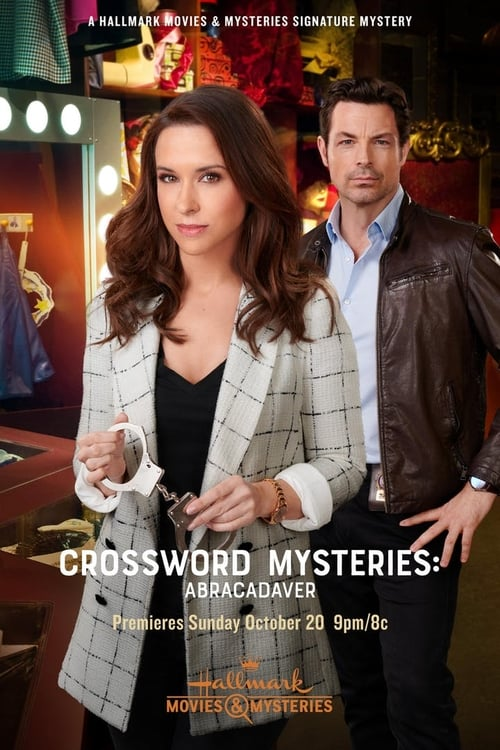 "Poster for the movie ""Crossword Mysteries: Abracadaver"""