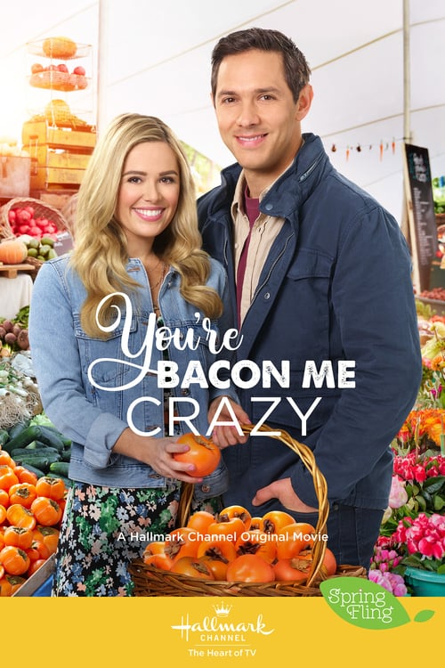 "Poster for the movie ""You're Bacon Me Crazy"""