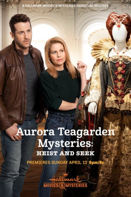 "Poster for the movie ""Aurora Teagarden Mysteries: Heist and Seek"""