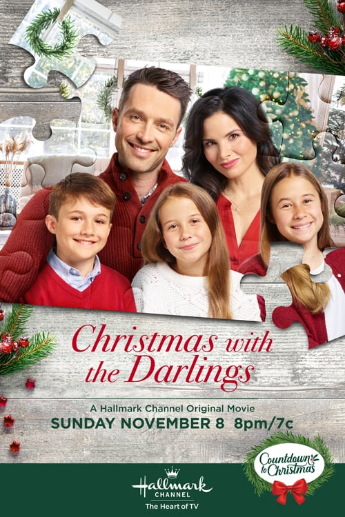 "Poster for the movie ""Christmas with the Darlings"""