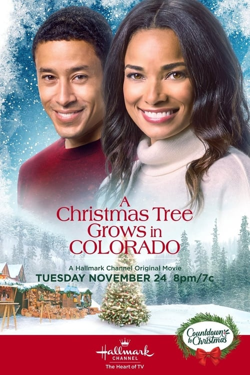 "Poster for the movie ""A Christmas Tree Grows in Colorado"""