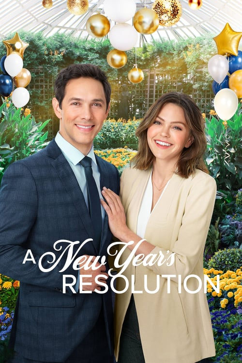 "Poster for the movie ""A New Year's Resolution"""
